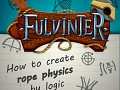How to create rope physics by logic?