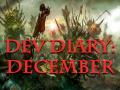 Development Diary For December