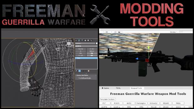Modding tools are live!
