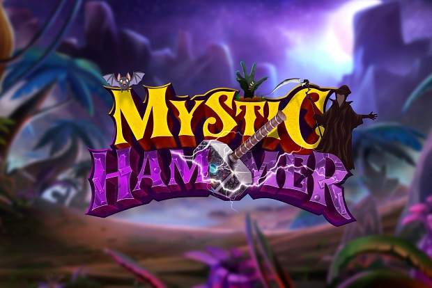 Four days left to fund Mystic Hammer! RPG / Lane Defender for Steam (PC/Mac), Android, iOS