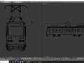I'm doing a train (tram)