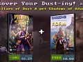 Pillars of Dust is on Steam! 10% off and a free copy of Shadows of Adam