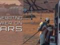 Generating power on Mars