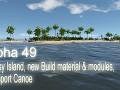 Alpha 49 - Grassy Island, new Build material & modules, Transport Canoe