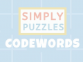 Coming 1st June - Simply Puzzles: Codewords