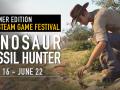 Developers Live Stream of Dinosaur Fossil Hunter