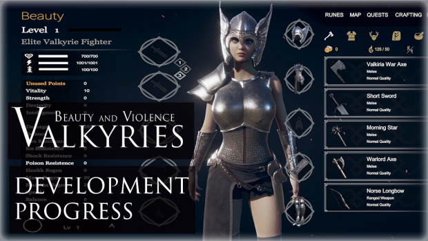 Development Progress | Improved Combat and Renewed Character Rendering