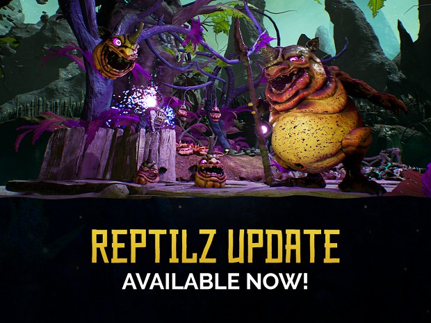 The Reptilz Update has ssslithered in!