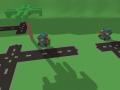 Animated voxel turret