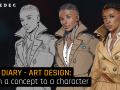 Gamedec - Art Design: From a concept to a character