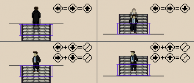 Moving on Stairs in a 2D Side-Scroller