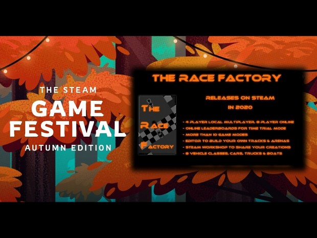 TRF is in the Steam Autumn Games Festival!