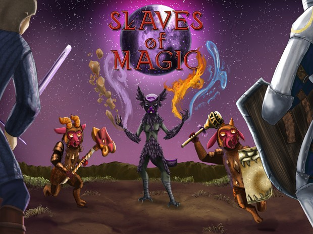 Slaves of Magic first trailer is released!