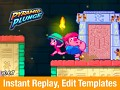 Pyramid Plunge v0.6.7 - Instant Replay, Edit Level Templates