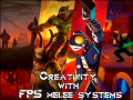 Ride to battle with a gun and a sword - Creativity with FPS melee systems