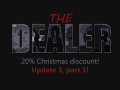20% Christmas discount and Update 3, part 1 are available now!