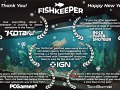 Fishkeeper's developers thank you for great welcoming the game in 2020.