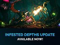 Explore the Infested Depths in the new Update