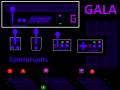 Gala - Arcade cabinet and joystics art