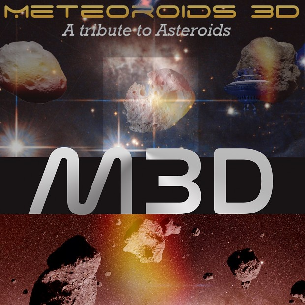 Main features and 3 videos of Meteoroids 3D