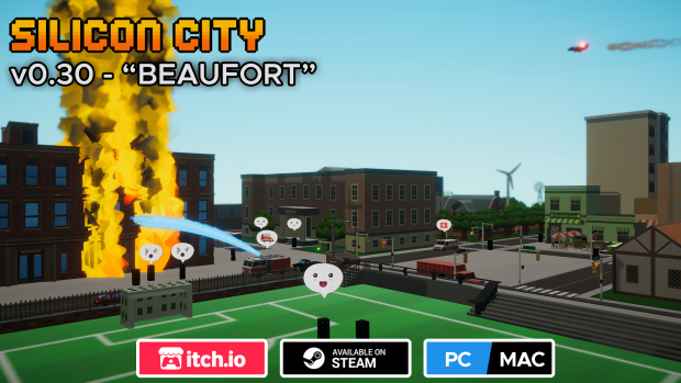 "Silicon City v0.30 ""Beaufort"" update log"