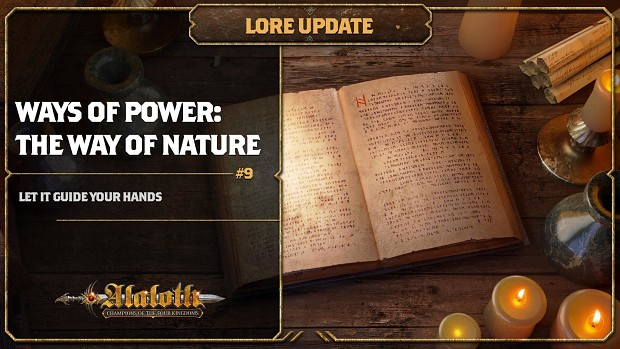 Lore Update #9 - Ways of Power: The Way of Nature