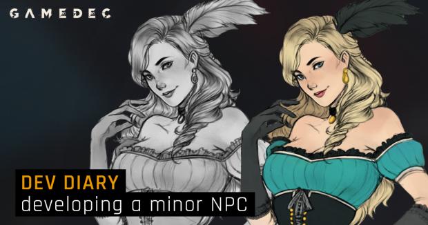 Dev Diary: developing a minor NPC