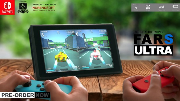 FAR S ULTRA - Pre-order now on Nintendo Switch