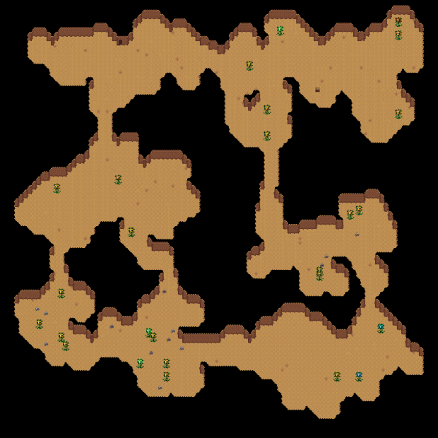 Dungeon and Cave Generation: Filling the Rooms