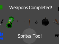 Weapons and Sprites for Heist Completed