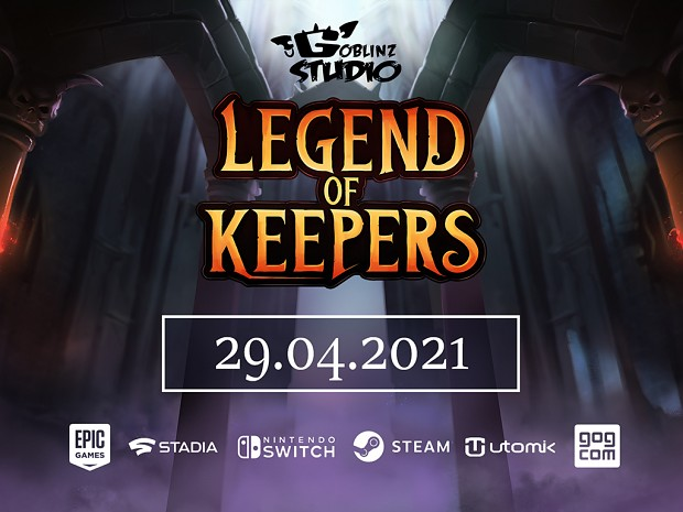 Legend of Keepers - Release Date Announcement Trailer