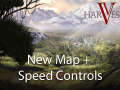 New Map, Speed Controls