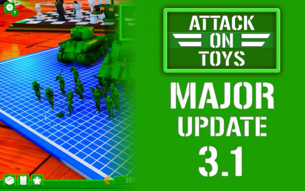 ATTACK ON TOYS 3.1: Semi-Open-World, Mod DB, Squad, Game Progression, Gamepad and more!