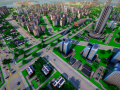 Diagonal roads, even more vehicles and early game tax revenue adjustments