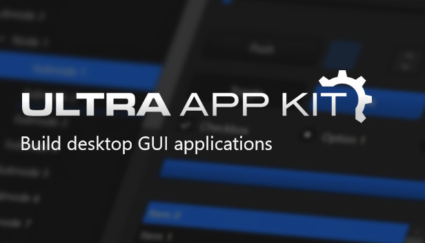 Ultra App Kit GUI Toolkit Released