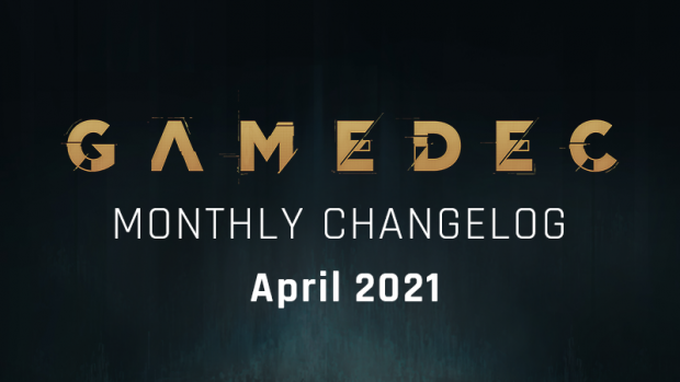 Monthly Changelog - April 2021