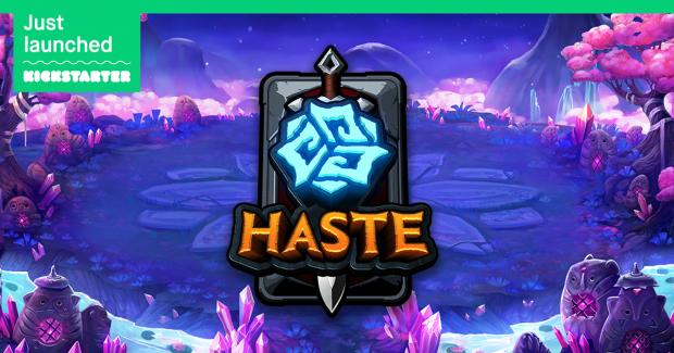 Haste is Live on Kickstarter