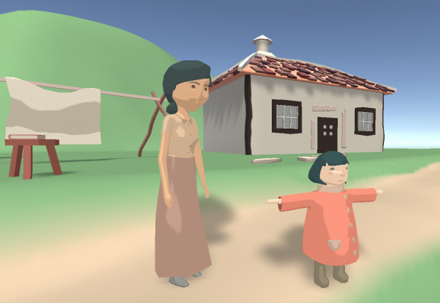 Laura Devlog #5: Blockout and characters