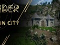 The process of developing a location - the ruins of an ancient city