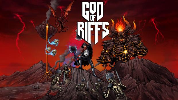 God of Riffs - A Heavy Metal VR Rhythm Game