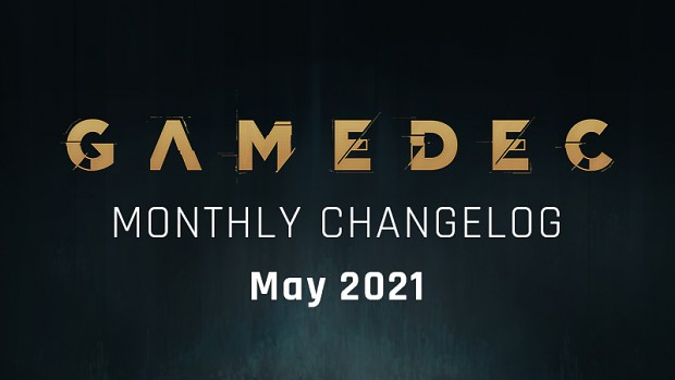 Monthly Changelog - May 2021