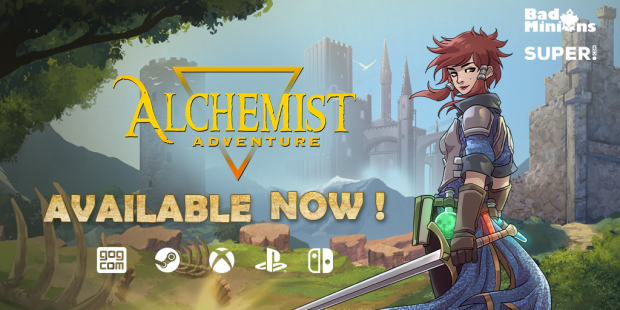 Alchemist Adventure is out now!