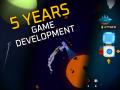 5 years of hobby game development