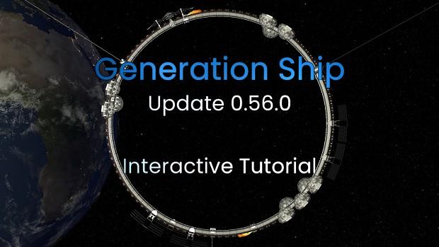 Release 0.56.0 - Interactive Tutorial