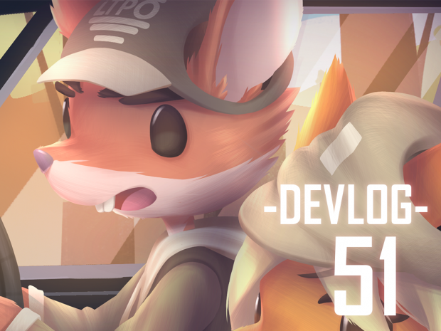 Devlog #51 – Cutscenes and Still Images