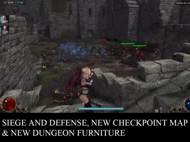 Update v0.760 Siege and Defense, New Checkpoint Map, and New Dungeon Furniture