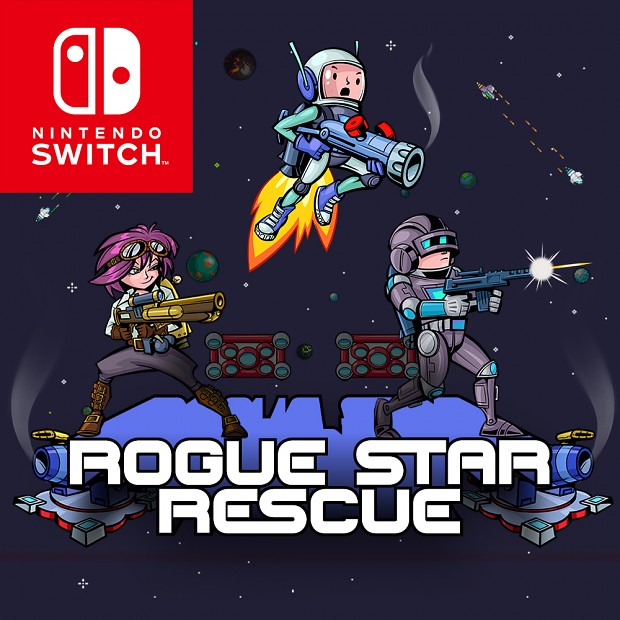 Rogue Star Rescue is now available on the Nintendo Switch!
