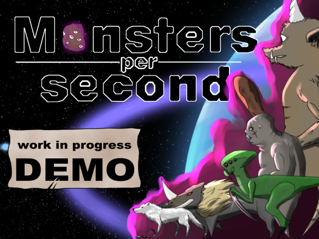 Monsters per second Demo for windows x64