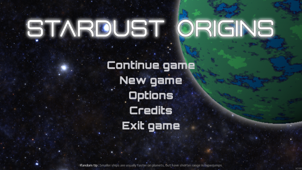 Stardust Origins DEMO released