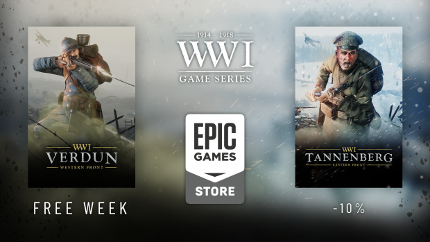 WW1GameSeries now out on the Epic Games Store